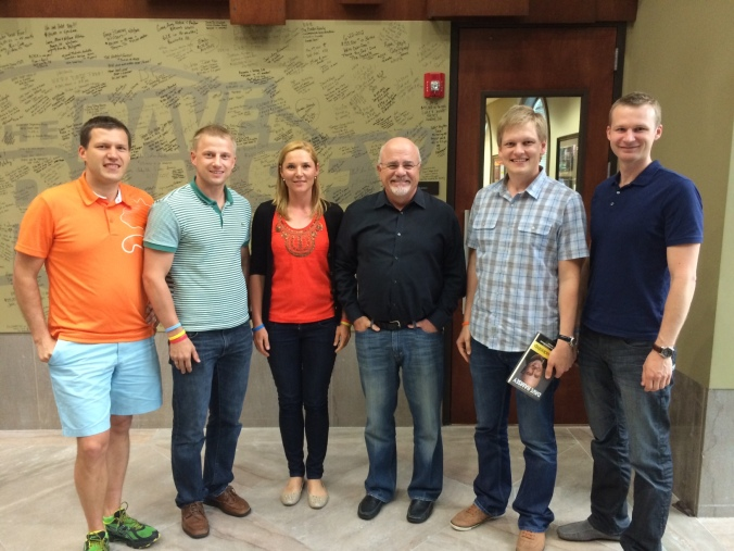 Visiting Dave Ramsey with my Estonian friends (June 2014)